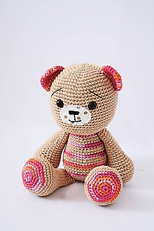 Hračky - Audrey bear - 11120959_
