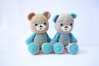 Hračky - Jasper and Ralph bears - 11121063_