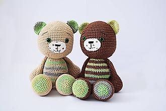 Hračky - Maddie and Fred bears - 11121088_
