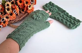 Rukavice - Bezprstové rukavice - 11121556_