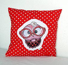 Textil - Detský bavlnený vankúšik - OčiPuči Sladká Lulu - 11121425_