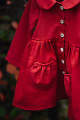 Detské oblečenie - Detský ľanový kabátik - 11119869_