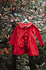 Detské oblečenie - Detský ľanový kabátik - 11119870_