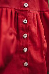 Detské oblečenie - Detský ľanový kabátik - 11119872_