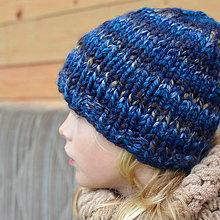Detské čiapky - školácka čiapka na ZIMU - 11121314_
