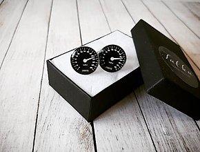 Šperky - Manžetové gombíky tachometer - 11120936_