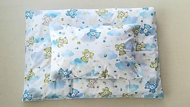 Textil - VLNIENKA Detské obliečky do postieľky na mieru  100% bavlna MACKO - 11121195_
