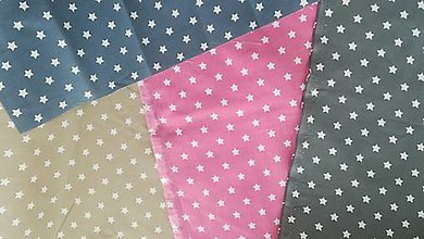 Textil - VLNIENKA Detské obliečky do postieľky na mieru  100% bavlna HVIEZDIČKY - 11121209_