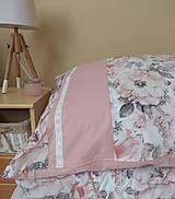 Úžitkový textil - Posteľné obliečky  púdrové  set 2+1 - 11119827_