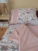 Úžitkový textil - Posteľné obliečky  púdrové  set 2+1 - 11119828_