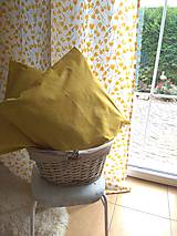 Úžitkový textil - Závesy  žlté tulipány v 250 - 11121856_