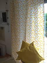 Úžitkový textil - Závesy  žlté tulipány v 250 - 11121857_
