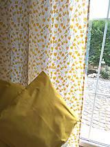 Úžitkový textil - Závesy  žlté tulipány v 250 - 11121858_