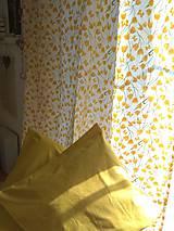 Úžitkový textil - Závesy  žlté tulipány v 250 - 11121859_