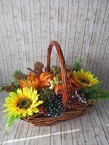 Dekorácie - Jesenná dekorácia - 11121130_