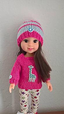 Hračky - Miška oblečenie pre bábiku - 11121937_