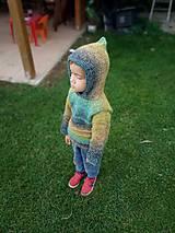 Detské oblečenie - Pletený svetrík pre fešáka - 11122288_