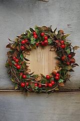 Dekorácie - Jesenný veniec - 11121912_