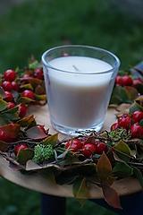 Svietidlá a sviečky - Jesenný svietnik - 11121974_