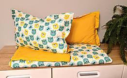 Textil - Vankúšiky s ľahkou prikrývkou BEAR - 11121419_