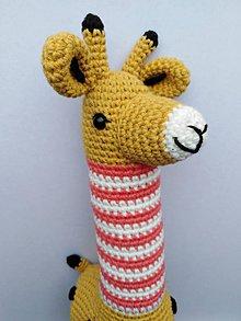 Hračky - Žirafa Karolka - 11119744_