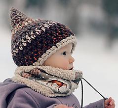 Detské čiapky - Skřítek od Bílé rokle - 11119956_