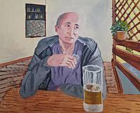 Obrazy - Pri pive - 11122394_