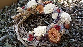 Dekorácie - Jesenný veniec - 11121239_