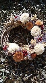 Dekorácie - Jesenný veniec - 11121241_