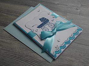Papiernictvo - ...pohľadnica pre chlapčeka... - 11120048_