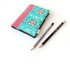 Papiernictvo - Zápisník Nežný vlk - A6 - 11121340_