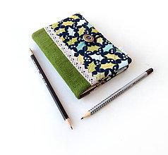 Papiernictvo - Zápisník Dubové lístie - A6 - 11121363_