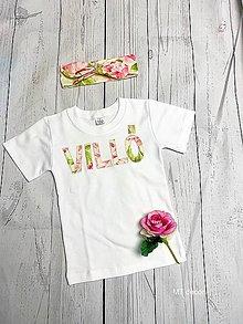 Detské oblečenie - TRIČKO, TRIKO na oslavu, personalizované TRIČKO - 11119562_