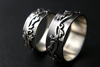 Prstene - Svadobné obrúčky - Vines - 11119938_