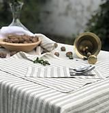 Úžitkový textil - Ľanové prestieranie - 11122444_