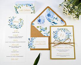 Papiernictvo - Svadobné oznámenie Adeline - 11126162_