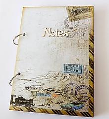 Papiernictvo - zápisník cestovateľský - 11123325_
