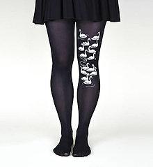 Nohavice - Labute (čierne) - 11124007_