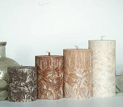 Svietidlá a sviečky - Wood - adventné sviečky (bez darčekového balenia) - 11123536_