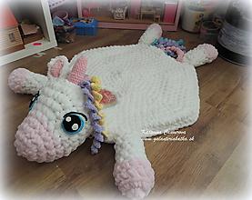 Úžitkový textil - Jednorožec - 11125634_