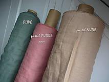 Textil - odstín PASTEL NUDE ..100% len metráž odstín PASTEL NUDE ..100% len metráž - 11125277_