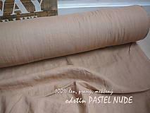 Textil - odstín PASTEL NUDE ..100% len metráž odstín PASTEL NUDE ..100% len metráž - 11125280_