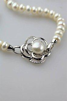 Náhrdelníky - perly náhrdelník luxusný - 11123728_