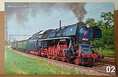 Obrázky - Plagát lokomotíva Albatros - 11124522_