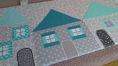 Úžitkový textil - Zástena na posteľ - 11123111_