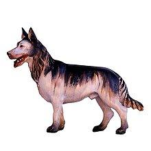 Dekorácie - Zvieratá pre Betlehem - Ovčiarsky pes - 11122496_