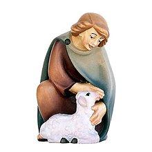 Dekorácie - Pastier s Jahniatkom - 11123422_
