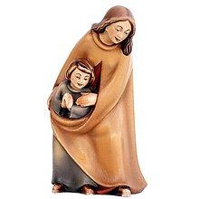 Dekorácie - Pastierka s dieťaťom - 11123613_