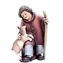 Dekorácie - Pastier s Kozou - 11123962_