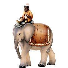 Dekorácie - Slon so sluhom - 11124217_